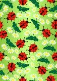 Signora Bug&daisy Immagine Stock