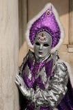 Signora In Carnival Dress 1 Immagini Stock Libere da Diritti
