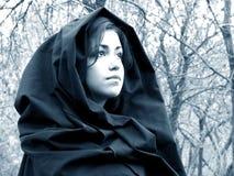 Signora del legno #3 fotografia stock libera da diritti