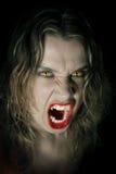 Signora del vampiro Fotografia Stock