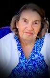 Signora dell'anziano Fotografie Stock Libere da Diritti