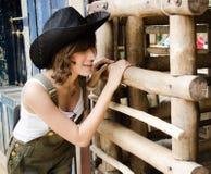 Signora dell'azienda agricola Fotografia Stock Libera da Diritti