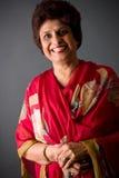 Signora dell'indiano orientale degli anziani fotografie stock