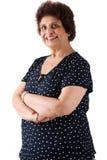 Signora dell'indiano orientale degli anziani Immagini Stock Libere da Diritti