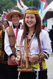 Signora di Lundayeh con Immagine Stock