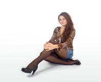 Signora di modo Fotografia Stock