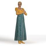 Signora di Regency Immagini Stock