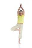 Signora di yoga immagini stock libere da diritti