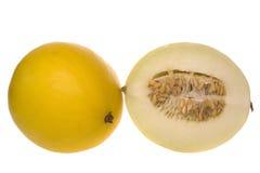 Signora dorata Melons Isolated Fotografia Stock Libera da Diritti