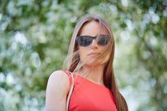 Signora elegante Fotografie Stock