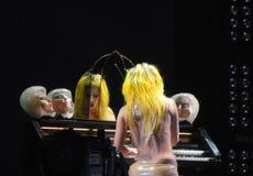Signora Gaga Fotografia Stock