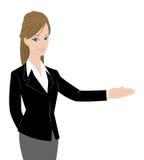 Signora graziosa dell'ufficio Immagini Stock Libere da Diritti