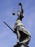 Signora Justice Immagine Stock Libera da Diritti