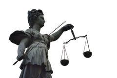 Signora Justice Immagine Stock