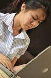 Signora lavorante Series 6 Fotografia Stock Libera da Diritti