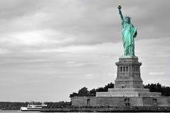 Signora Liberty - enfasi di colore Fotografia Stock