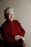 Signora maggiore anziana Fotografia Stock
