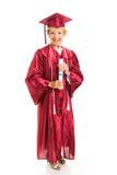 Signora maggiore Graduates con gli onori Fotografia Stock Libera da Diritti