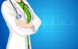 Signora medico Immagini Stock