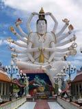 Signora-monaco in Tailandia Immagine Stock