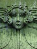 Signora nel verde Fotografia Stock