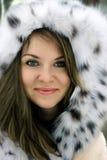 Signora in pelliccia Fotografie Stock Libere da Diritti