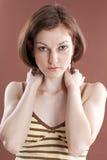 Signora sexy Fotografia Stock