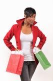 Signora Shopping Immagini Stock