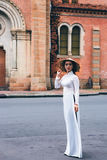Signora Vietnam Fotografia Stock Libera da Diritti