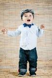 Signore del bambino Fotografia Stock