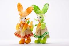 Signore del coniglietto Fotografie Stock