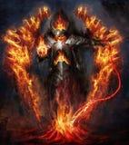 Signore del fuoco Fotografie Stock