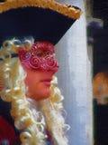 Signore di carnevale Fotografia Stock