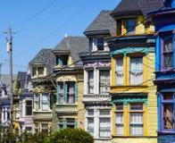 Signore dipinte a San Francisco fotografia stock libera da diritti