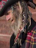 signore eccentrico più vecchio Fotografie Stock
