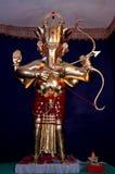 Signore Ganesha nel ruolo di Arjuna immagine stock