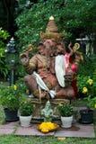 Signore Ganesha Statue nel giardino Immagini Stock Libere da Diritti