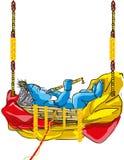 Signore Krishna illustrazione di stock