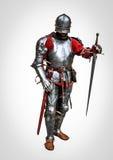 Signore medievale del cavaliere Fotografie Stock Libere da Diritti