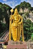 Signore Murugan Statue, caverne di Batu Fotografie Stock Libere da Diritti