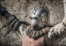 Signore vittorioso del cavaliere Illustrazione di Stock