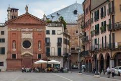 Signori del dei de la plaza, Padua Fotografía de archivo