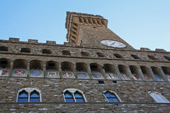 Signoria Building (palazzo), Florence Royalty Free Stock Photography