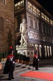 Signoria della piazza, Firenze, Italia Fotografia Stock