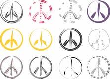 Signos de la paz Fotografía de archivo libre de regalías