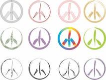 Signos de la paz Fotografía de archivo