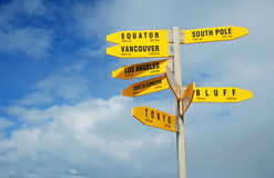 Signpost Stock Photos