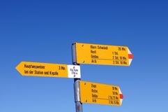 Signpost Royalty Free Stock Photo