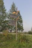 signpost Lizenzfreies Stockbild