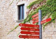 signpost Stockfoto